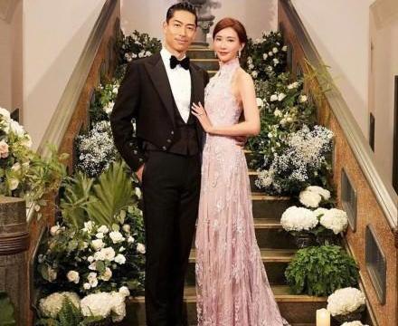 林志玲婚后首现身,戴网面礼帽贵妇范十足,丈夫穿花衬衫有点油腻