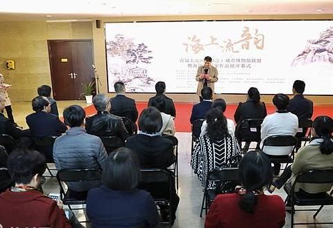 汇集13家博物馆的66件藏品 大运河(浙江)海派书画家作品展开幕