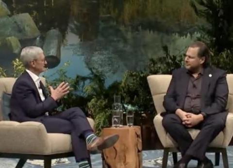 """苹果CEO蒂姆·库克:""""Think Different""""口号仍深植苹果内部"""