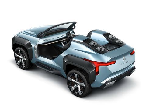 """未来的""""山猫""""长这样?三菱设计师开窍,新越野车颜值够硬"""