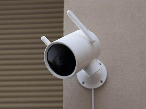 小米众筹智能摄像机户外云台版:1080P 270°看护