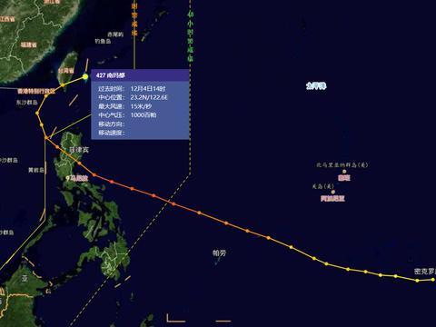 """罕见!11月双台风在我国附近""""藤原"""",权威预报:不排除登陆"""