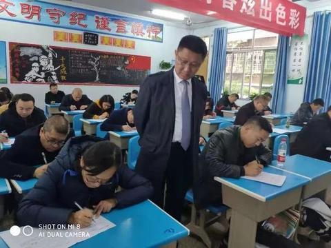 """以考促教,以考促学——南充六中教师""""新课标""""考试初体验"""