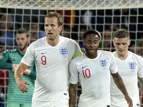 双星!凯恩、斯特林欧洲杯预选赛参与进球数排在前二