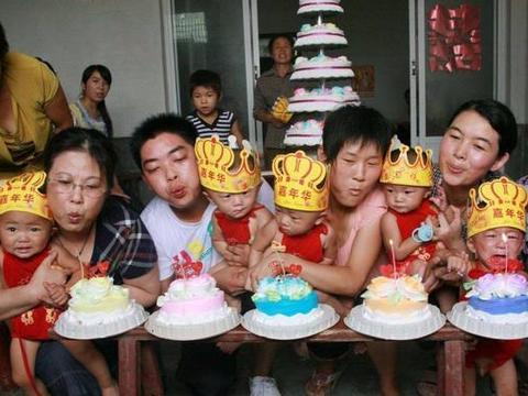 王先生喜得5胞胎,随口给孩子取名字,上户口时把工作人员逗乐了
