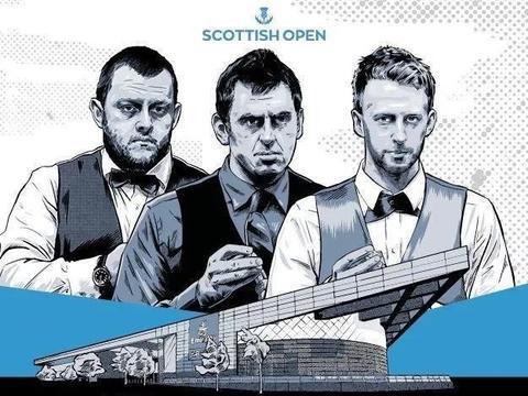 苏格兰公开赛签表:奥沙利文迎复仇良机,特鲁姆普连获大礼包!