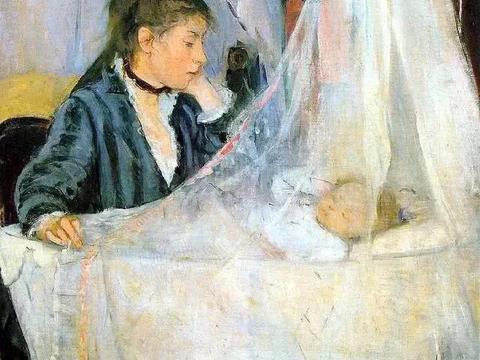 法国印象派女画家莫里索油画作品欣赏