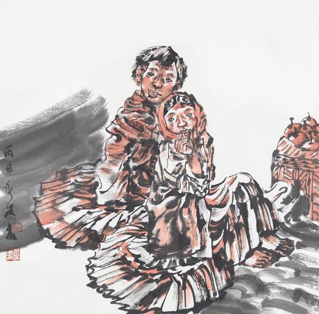 西部精神•西部人物画——著名画家刘永杰