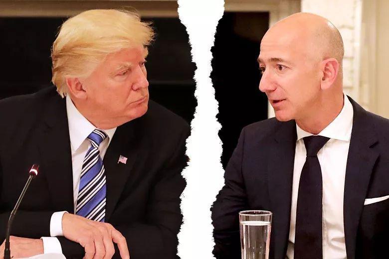 暗战:特朗普恨透贝佐斯,非要把比尔盖茨拱成首富