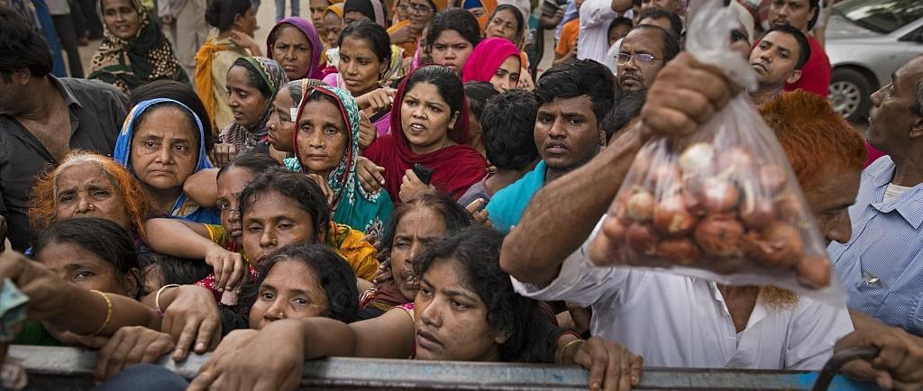 """印度洋葱引发的一场""""危机"""" 孟加拉国开始戒洋葱"""