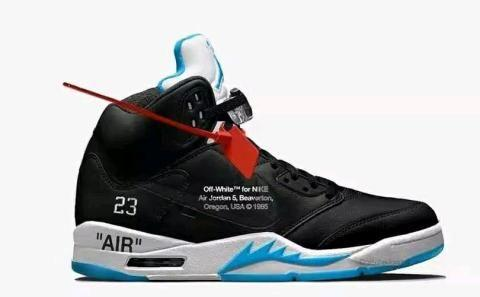 球鞋资讯|AJ5和OW联名要来了,耐克推出上海城市特别款