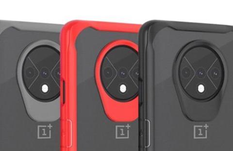一加7T系列保护壳曝光,摄像头采用不同设计