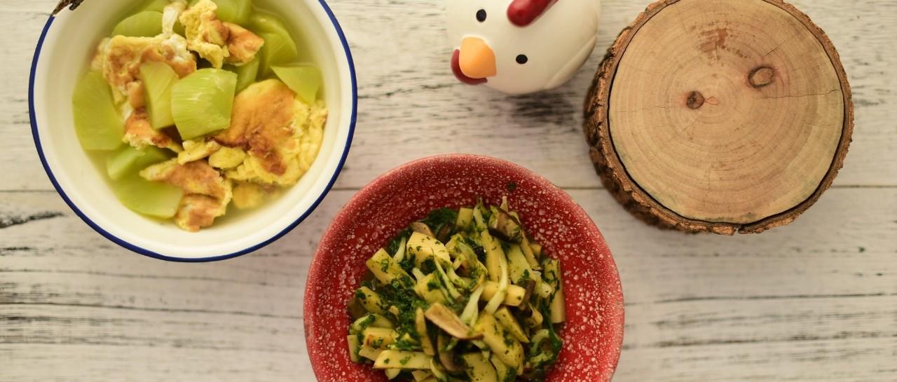 【五块辅食】银鱼烩冬笋,这款食材给宝宝添加了没?制作辅食有妙用!