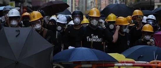 官媒:香港一些精英站在暴徒一边 成为文明的耻辱