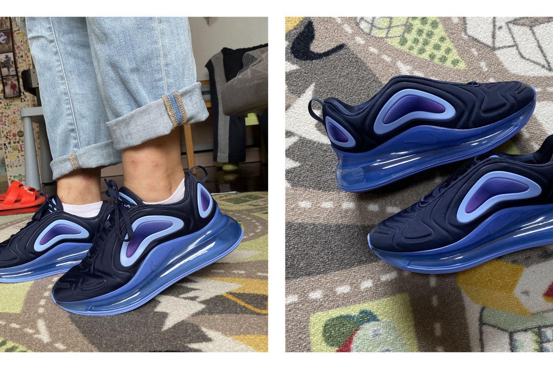 双十一来晒晒Nike Air Max 720气垫鞋