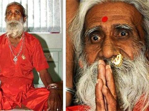 印度90岁瑜伽大师,自称77年不进食不上厕所,查看监控后发现猫腻