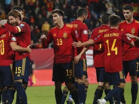 欧预赛7大榜单出炉!西班牙获3个第一,C罗无缘最佳射手