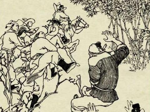 民间传说:何青天点风水,计惩看坟奴