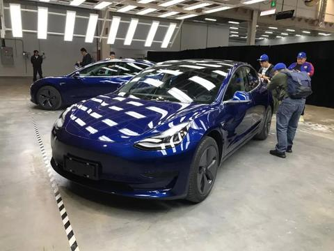 速度!国产特斯拉Model 3将11月22日到店,并提供试乘试驾