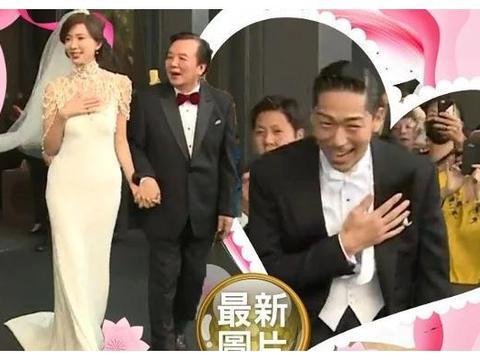 林志玲婚礼上给公婆敬茶,AKIRA爸爸首次出镜喜感十足