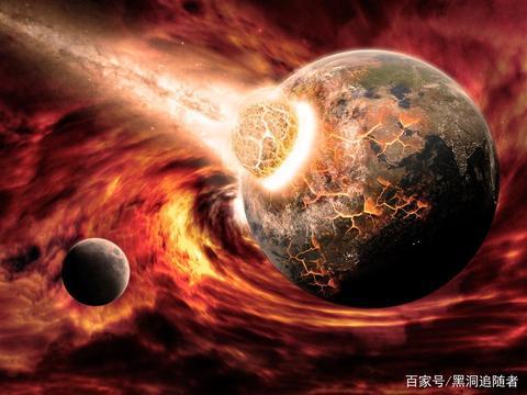 太阳的地位受到挑战,这两颗行星一旦撞击,太阳系将变成双星系统