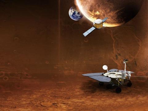 """为寻找火星生命,欧洲将发射探测器,从火星上抓把""""泥土""""回来"""