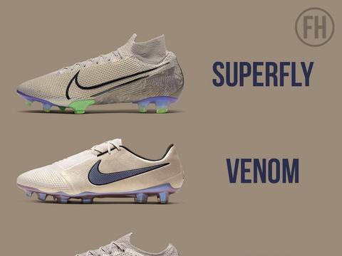 哈里·凯恩上脚新配色Nike Phantom VNM Elite足球鞋
