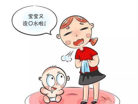 宝宝口水流得像水龙头,是疾病的征兆?医生:正确辨别症状很重要