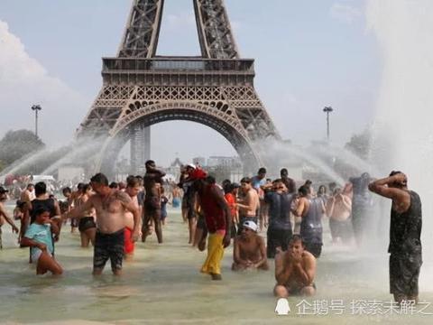 热,热,热!整个欧洲在40摄氏度的高温下烘烤,气温高达40度