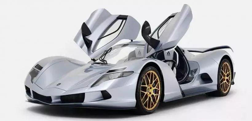它是全球最快电动跑车百公里加速1.7秒