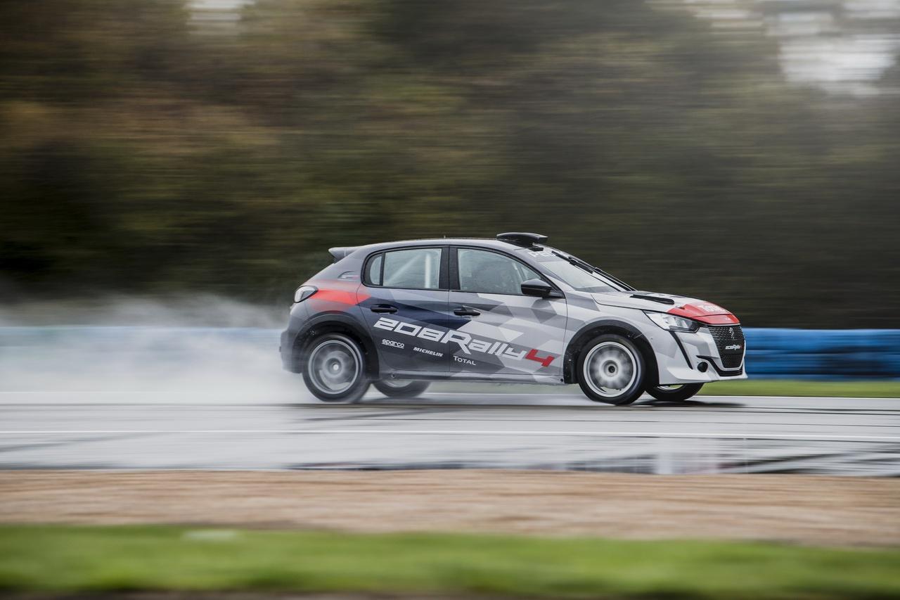 R2C拉力赛车升级标致全新208 R4赛车2020年开卖