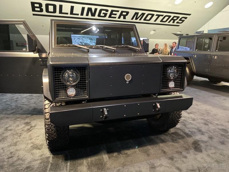 2019洛杉矶车展:Bollinger B1/B2亮相 硬货电动越野车