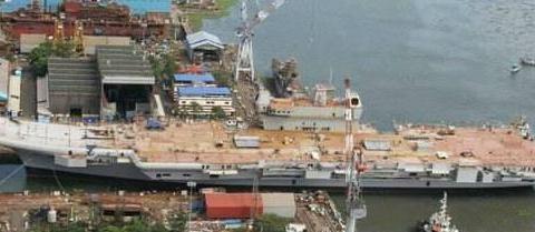 印度即将拥有双航母:国产航母终于快造好了 已为海试拨款300亿