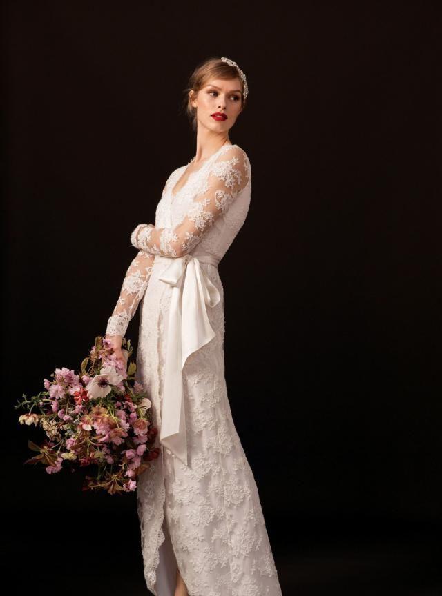 伦敦高定婚纱Temperley London:花神降临,复古之美