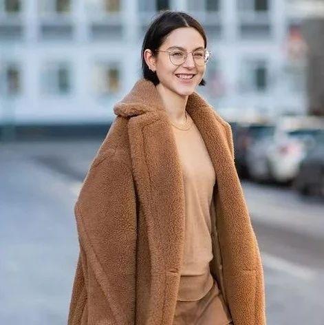 种草鹅 |穿上这件毛毛外套,再大的风也雨我无瓜