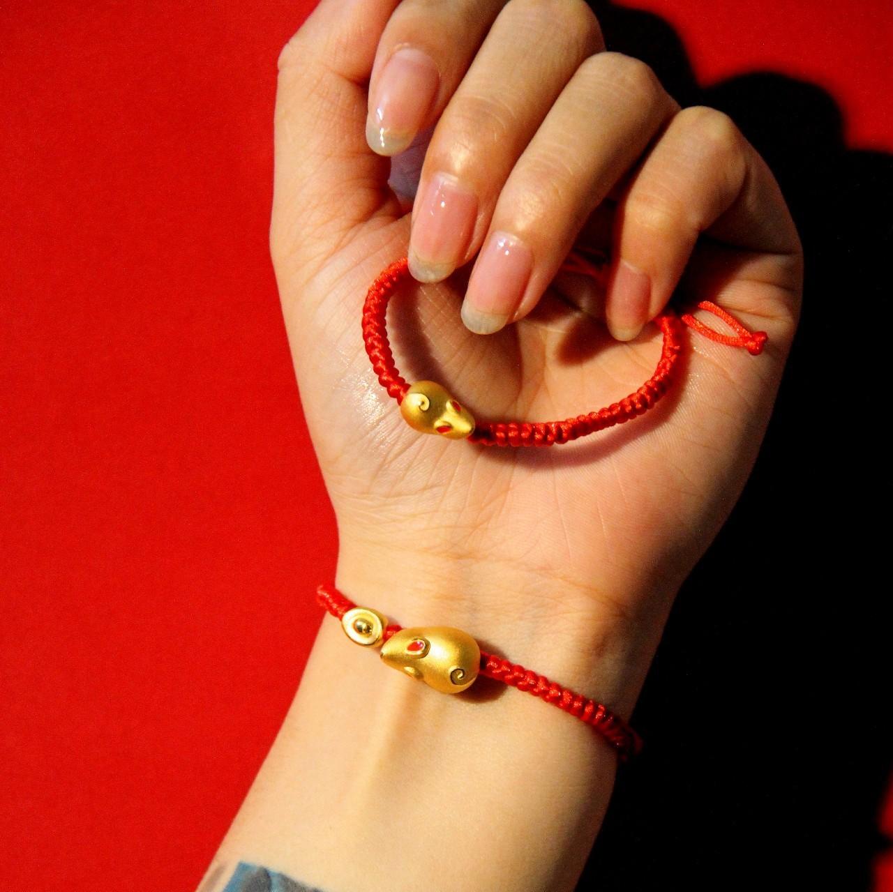 金鼠红绳带来时来运转 这才是中国人腕上最美的手链 | 檀生活
