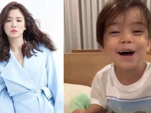 宋慧乔外甥为其唱生日歌超萌 乔妹感谢粉丝应援