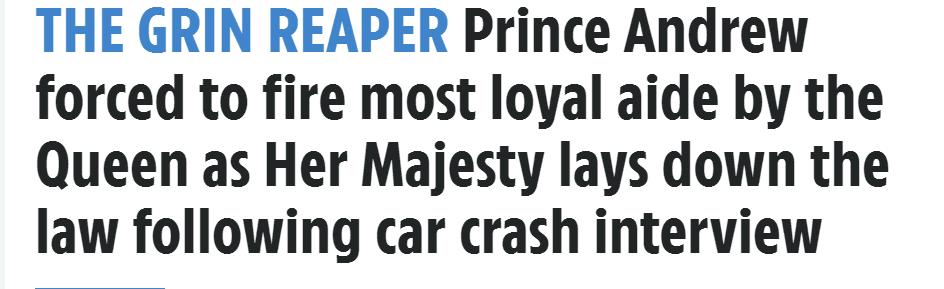年收27万镑的安德鲁王子奢侈生活之谜:他的隐秘朋友圈
