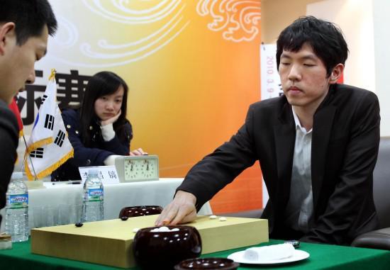 李昌镐在农心杯比赛中
