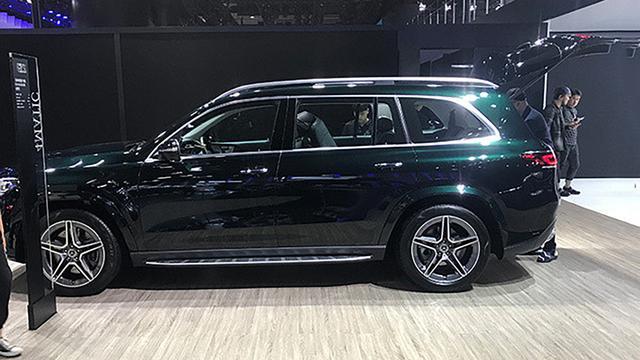全新奔驰GLS上市,轴距超3米1,售103.80万起