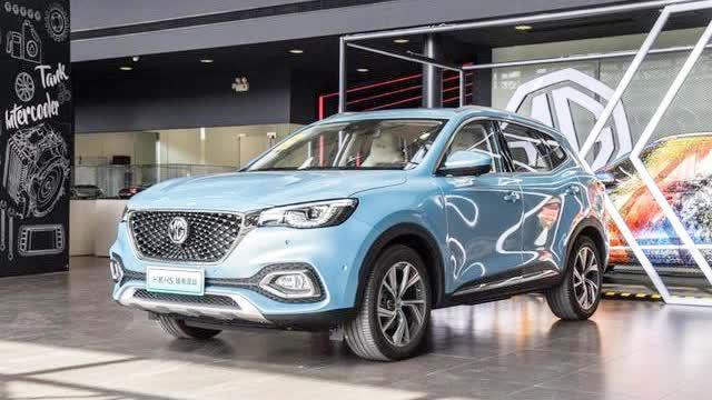 视频:在11月22日开幕的2019广州车展上名爵HS的插电混动车型——名爵eHS正