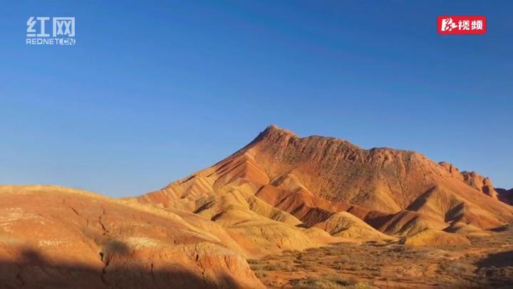 时刻带你看西北丨七彩丹霞:大自然的调色板 太美了