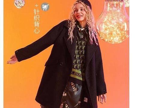秋冬时尚毛呢外套,修身显瘦又保暖,上身挺括有型