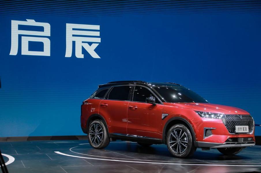 东风启辰全新SUV启辰星亮相 将搭载48V轻混系统