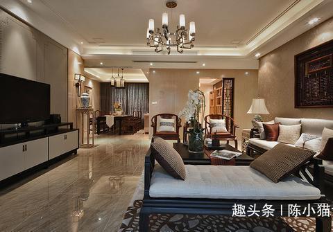 晒晒父母准备的现代中式养老房,稳重奢华,老友们都羡慕嫉妒恨!