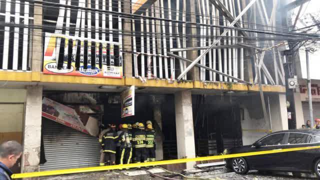 菲律宾一养老院发生火灾致6人死亡 消防部门出动80辆消防车灭火