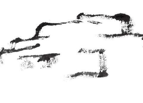 山石皴法不会画?分步骤图解教你3种常见皴法画法,快来学习临摹