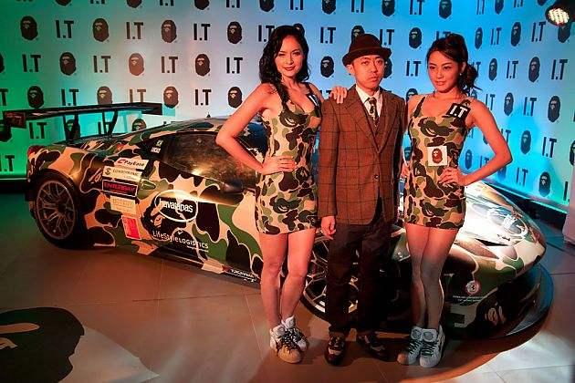 汽车与潮流的融合 超级跑车帕加尼跨界合作日本潮流品牌Bape