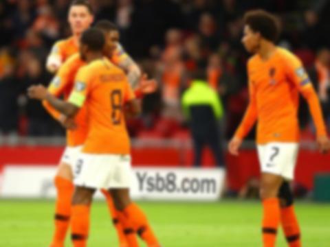2020欧预赛:维纳尔杜姆帽子戏法 荷兰在主场5-0爱沙尼亚