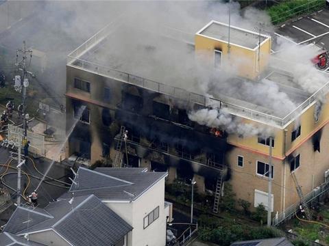 京都动画火灾初步调查结果:浓烟扩散迅速致多人逃生失败